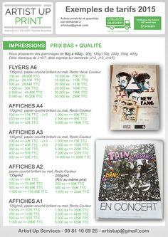 Artist UP - SERVICES | Impression - Pressage CD - Vinyle - Textiles - Goodies
