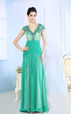 確かな高級感 グリーン系ロングパーティードレス - ロングドレス・パーティードレスはGN|演奏会や結婚式に大活躍!