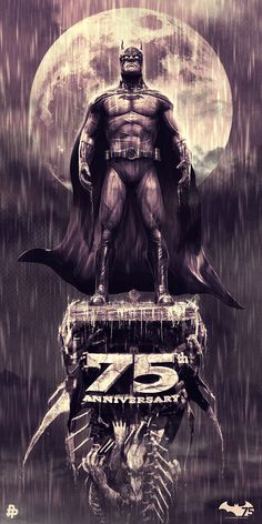 Poster Posse Project #10 Batman 75th Anniversary Tribute – Phase 4