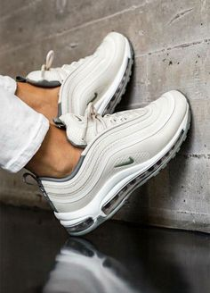 c36bfb2e6d7 Fashion Girl Outfits - Nike Air Max 97 Sneakers. Basket SneakersSneakers  NikeNike Air ShoesNike TrainersAir ...