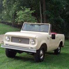 The pride of Fort Wayne, Indiana. The International Harvester Scout.