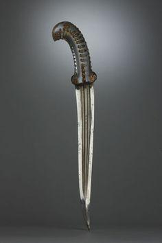 A gem-set rock crystal-hilted dagger. Mughal India, 18th century