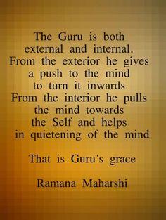 The Guru - Ramana Maharshi