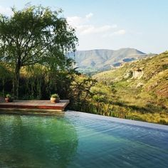 """Dubbed """"the jewel of the Free State"""", Clarens is a haven for artistic and food-loving types. Nestled in the foothills of the Maluti mountains and a… The Beautiful Country, Beautiful Places, Places To Travel, Places To Visit, Free State, Out Of Africa, Africa Travel, Countries Of The World, Small Towns"""