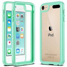 ULAK Soft TPU Bumper Case for iPod Touch 5/6 Generation - Clear_Mint Green, http://www.amazon.com/dp/B016ZDUCRQ/ref=cm_sw_r_pi_s_awdm_f0SCxbQ1ZWXK4