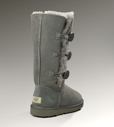 Uggs Button Bailey Triplet Grey Boots