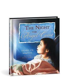 The Night the Angel Came by Sharilyn Martin, http://www.amazon.com/dp/0878137025/ref=cm_sw_r_pi_dp_8ApKrb0JJ6J7J