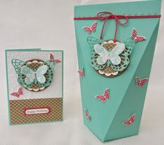 Stamping Moments: Butterfly Basics and Papillon Potpourri Stamp Class