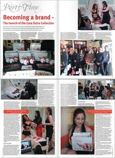 You can read all about The Cara Sutra Collection launch party in this month's ETO Magazine!  Read the related blog post here on the company website http://thecarasutracollection.co.uk/eto-magazine-reports-on-the-cara-sutra-collection-launch-party/
