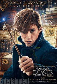 Eddie Redmayne as Newt Scamander #FantasticBeasts