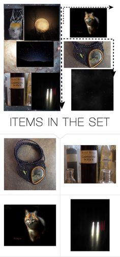 """""""Night Fall"""" by laughingdog ❤ liked on Polyvore featuring art"""