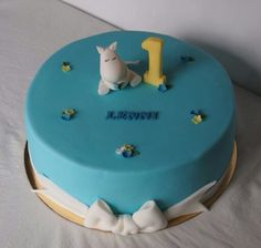 Moomin birthday cake