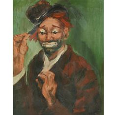 Freddie the Freeloader by Red Skelton  Look at the name , he has his own picture .