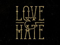 Love & Hate / Salazar by P. Hate, Typography, Hair Accessories, Candle, Packaging, Clothing, Design, Letterpress, Outfits