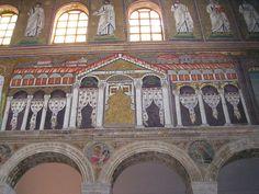 Basílica de San Apolinar Nuovo de Rávena, Palacio de Teodorico