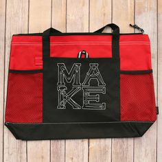 Make It Tote It Bag by mycousinmadeit on Etsy