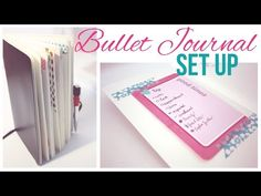 ❤ Bullet Journal - Set Up (Deutsch) ❤ - YouTube