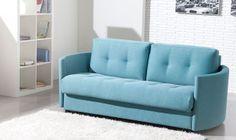 Alexi 2 seater sofa in aqua marine   Darlings Of Chelsea #sofas #colour #style