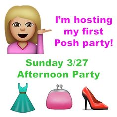 I'm hosting my first PARTY TOMORROW! Best in Prom  Please join me as I host my first Poshmark party! Would love your support to help get the word out  UPDATE: theme is PROM DRESSES!! Please tag anyone below who has great prom dresses in their closet or tag me in listings. Looking for HPs!!!  THANK YOU for sharing!  Party Host Dresses