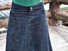 Fresh Apparel- Practical & Flattering Denim Skirts by Olivia Howard — Kickstarter
