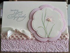 Our Little Inspirations: Sympathy Card