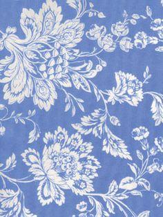 Timeless Treasures Vivienne Tonal Jacobean Blue