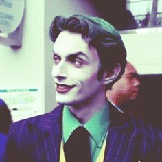 gif the joker cosplay  anthony misiano