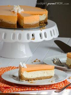 Orange Creamsicle Cheesecake - Source http://pinterest.com/pin/84512930480290806/