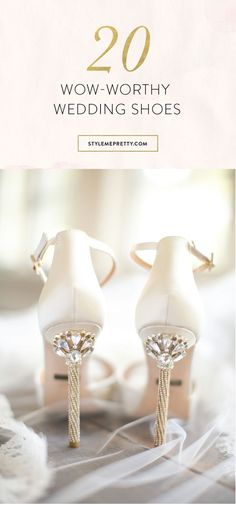 Wedding shoes you'll never want to take off! via @stylemepretty