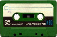 ORWO K 60 Casette Tapes, Magnetic Tape, Marie Gomez, Mixtape, Vintage Prints, Audio, Retro, Nice, Pictures