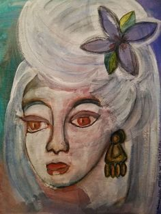 mimulux patricia no - Paintings for Sale India Ink, Mixed Media Painting, Melancholy, Paintings For Sale, Gouache, Dark Art, Mystery, Fine Art, Artwork