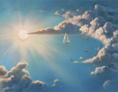 Vladimir Kush es un artista surrealista ruso nacido en 1965