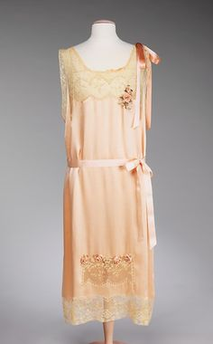 lovely      Nightgown  1926-1927  The Metropolitan Museum of Art    Why don't people sleep in pretty things like this anymore?