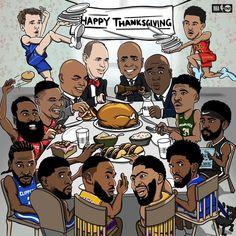 Nba Players, Happy Thanksgiving, Peanuts Comics, Comic Books, Skateboarding, Aspen, Instagram, Basketball, Sports