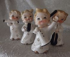Vintage Musical Girls Figurines