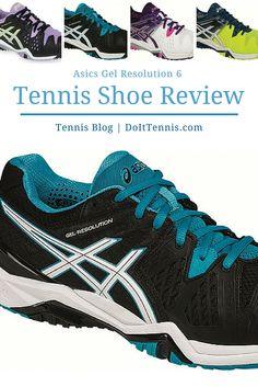 Asics Gel Resolution 6 Tennis Shoe Review - Tennis Blog 89de8cfc7167d