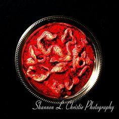 Intestines & Blood in Silver Serving Bowl