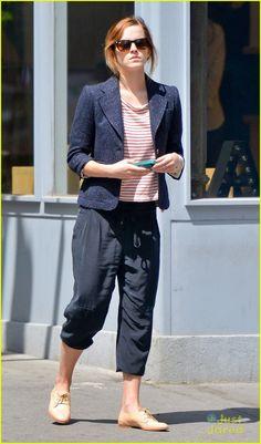 Emma Watson: NYC Walk After Met Ball | emma watson walk nyc after met ball 04 - Photo