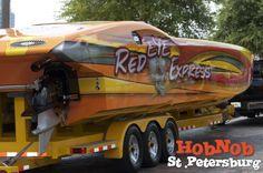 Really cool boat from the Festival of Speed in St. Pete! http://gohobnobbin.com/whtg3