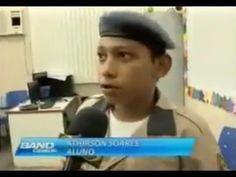 Amorim Sangue Novo: Militarização nas escolas, eu apoio