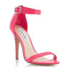 STEVE MADDEN REALOVE - Ankle Strap High Heel Sandal - pink   Dune Shoes Online