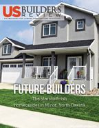 More labor to meet the demands of the energy boom in North Dakota means more housing. Future Builders Inc. is helping fill the need for housing.