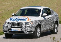 Spy Shots: 2015 BMW X4 Caught On German Streets