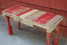 Upcycled Pallet Benches by PJsFurniture on Etsy