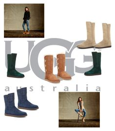 """Boot Remix with UGG : Contest Entry"" by nedim-848 ❤ liked on Polyvore featuring UGG Australia, women's clothing, women's fashion, women, female, woman, misses and juniors"