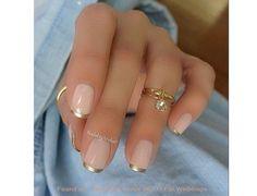 Paznokcie ze złotem - eleganckie wzorki na paznokcie na specjalne okazje - Strona 8