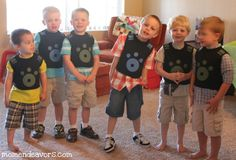 DIY Wild Kratts creature power suits! Definitely making these for my boys!!