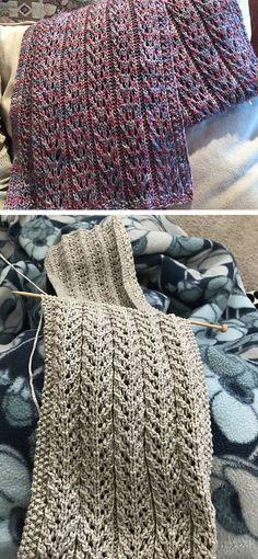 Birch Trees Scarf - Free Pattern - Knitting is as easy as 3 Das Knitt . - Birch Trees Scarf – Free Pattern – Knitting is as easy as 3 Knitting boils down to three - Easy Knitting Projects, Knitting Blogs, Knitting For Beginners, Knitting Stitches, Knitting Needles, Knitting Patterns Free, Knit Patterns, Free Knitting, Free Pattern
