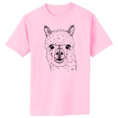 Alpaca Art T-Shirt Youth and Adult Sizes by artbyljgrove on Etsy