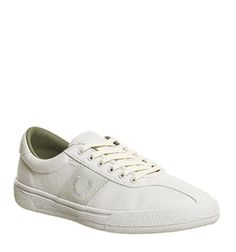 promo code 470f4 a56e3 Fred Perry, Exhibition 1, Offspring Anniversary Porcelain White Fred Perry,  Trainers, Anniversary
